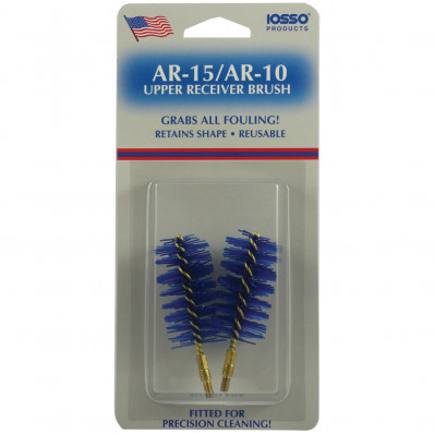 Iosso AR-15 Upper Receiver Brush with Stud - 2 Pack