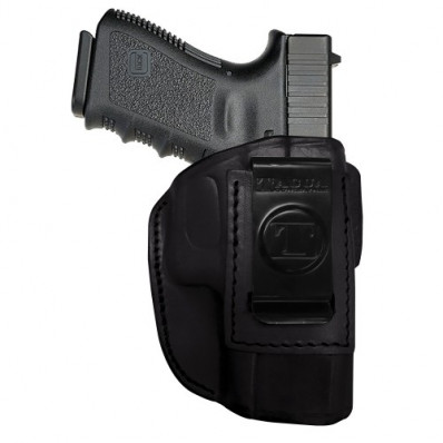 Tagua 4 in 1 Inside the Pants Holster without Thumb Break S&W M&P Shield 9mm Black Right Hand