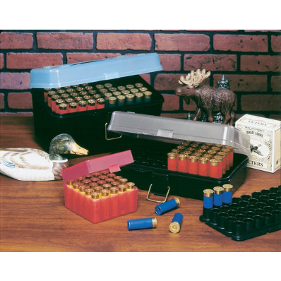 J&J 12/16/20 ga Shot Shell Case with 2 Removable Trays