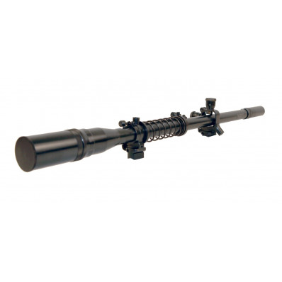 Leatherwood Malcolm USMC Sniper Rifle Scope Recoil Spring Attached - 8x
