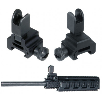 Leapers UTG Model 4 Flip-up Front Sight for Reg Height Gas Block