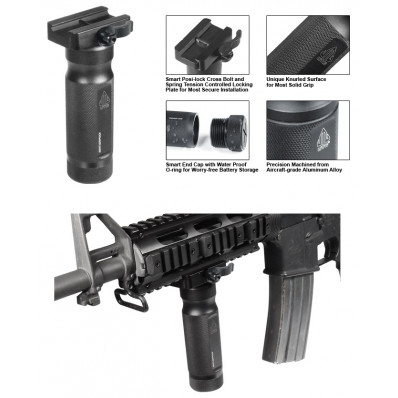"""Leapers UTG 5"""" Combat Quality QD Lever Mount Metal Foregri"""