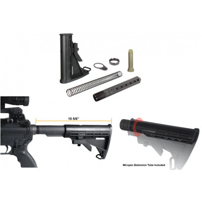 Leapers UTG PRO Made in USA 6-Position Mil-spec Stock Assembly