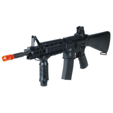 Leapers UTG High Quality Full Metal M4 Tactical Black Airsoft Rifle