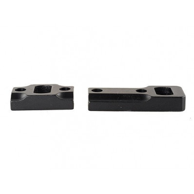 Leupold 2-Piece Dual Dovetail Base - Browning A-Bolt Reversible Front, Matte