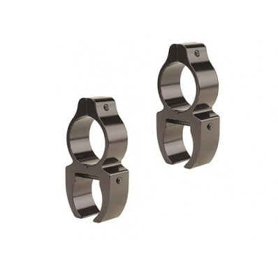 "Leupold Rifleman See-Thru Rings - Detachable .22 RF, 3/8"", Gloss"