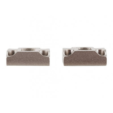 Leupold 2-Piece Dual Dovetail Base - Browning X-Bolt, Silver