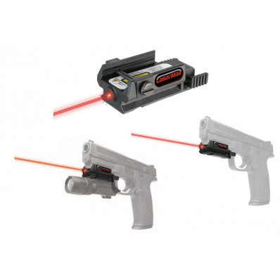 LaserMax Uni-Max Essential Series Rail Mount Red Laser Beam