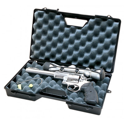 "MTM Single Handgun Case with Hook for Up to 8.8"" Barrel, Black"