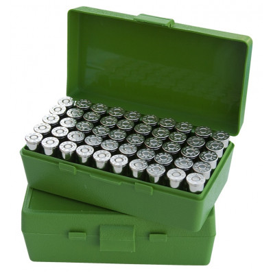 MTM Case Guard P-50 Series Handgun Ammo Box