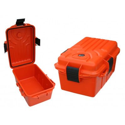 "MTM Survivor Dry Box Orange - 9.8"" x 6.8"" x 3.0"""