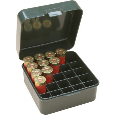 "MTM Dual Gauge Shotshell Case 3.5"" 25 Round Forest Green"