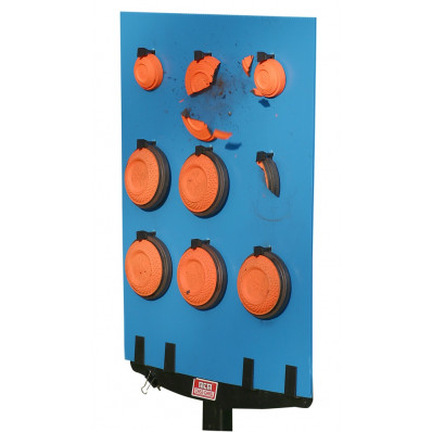 MTM Bird Board Blue (Holds 9 Clays) 6-Pack