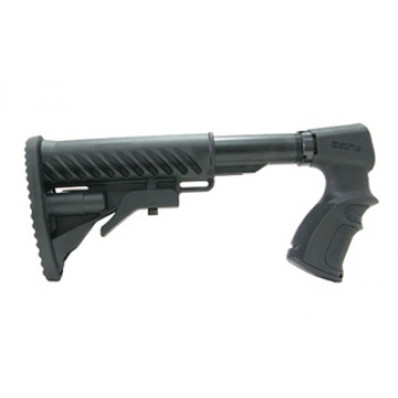 Mako Group Remington 870/AR-15/M4 Folding Collapsible Buttstock with Shock Absorber