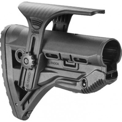 Mako Group Recoil-Reducing M4/AR-15 Stock with Adjustable cheekpiece