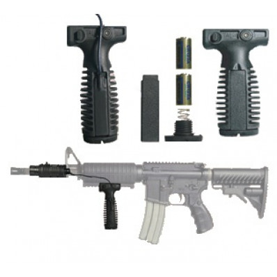 Mako Group Quick Release Tactical Vertical Grips with Battery Storage