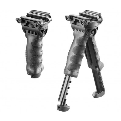 Mako Group Tactical Pivoting QR Vertical Foregrips with Integrated Adjustable Bipod
