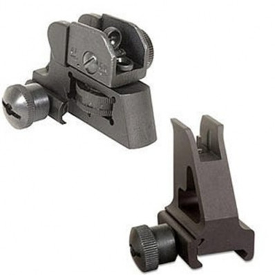 GMG AR-15/M4 Sight Combo - FRONT/REAR - A2 Style