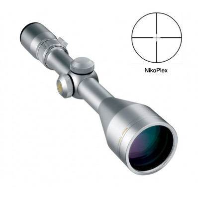 REFURBISHED Nikon Prostaff Rifle Scope - 3-9x50mm Nikoplex Reticle Silver