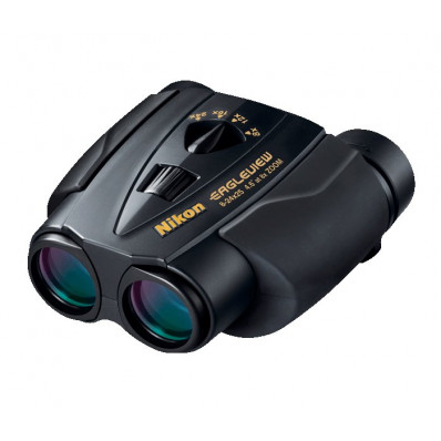 REFURBISHED Nikon Eagleview Zoom Binocular - 8-24x25mm Black