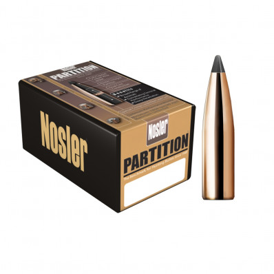 "Nosler Partition Bullets .270 cal .277"" 160 gr SEMI-SPT 50/ct"