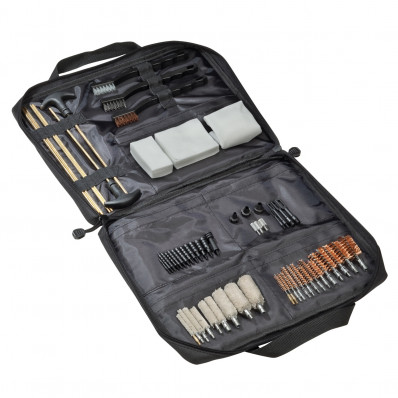 Outers Universal 62 piece Soft Sided Gun Cleaning Kit