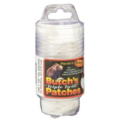 """Pachmayr Butch's """"Triple Twill"""" Patches Handi-Pak 2-1/2"""" 100-Pack"""