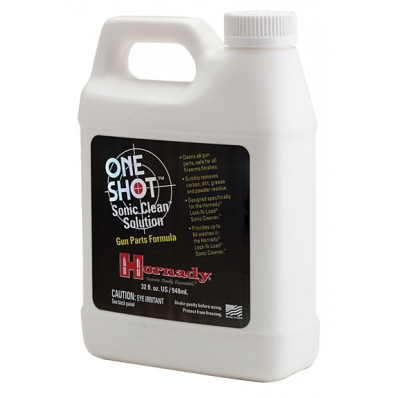 Hornady One Shot Sonic Cleaning Solution - Gun Part Formula