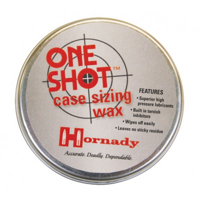 Hornady One Shot Case Sizing Wax - 2 oz.