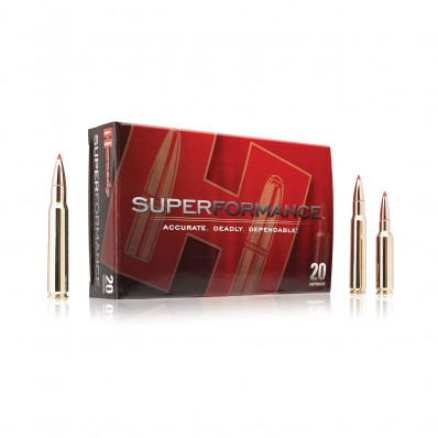 Hornady Superformance Rifle Ammunition .223 Rem 55 gr GMX 3275 fps - 20/box