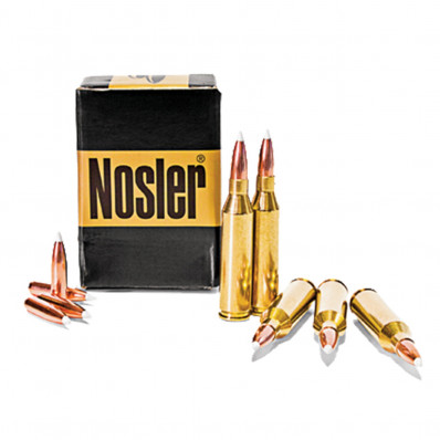 Nosler Trophy Grade Centerfire Rifle Ammunition .338 RUM 250 gr AB 2850 fps - 20/box