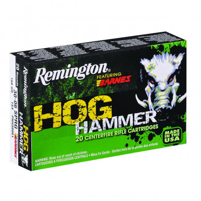 Remington Hog Hammer Centerfire Rifle Ammunition .30-30 Win 150 gr TSX 2335 fps - 20/box