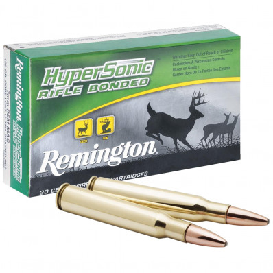 Remington Hypersonic Centerfire Rifle Ammunition .300 Win Mag 180 gr PSP 3122 fps - 20/box