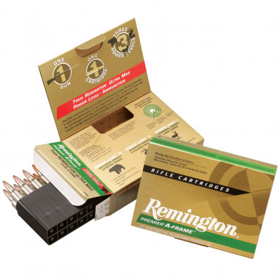 Remington Premier A-Frame Centerfire Rifle Ammunition .338 RUM 250 gr PSP 2860 fps - 20/box