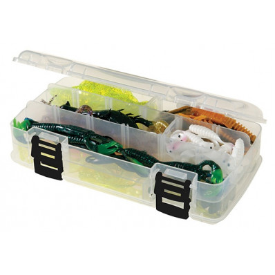Plano Clear Large Double-Sided Storage Box 9 X 5