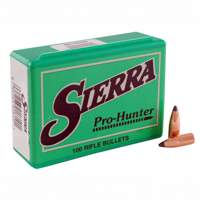 "Sierra Pro-Hunter Rifle Bullets 8mm .323"" 150 gr SPT 100/ct"