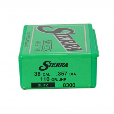"Sierra Sports Master Handgun Bullets .410 cal .410"" 210 gr JHC 100/ct"