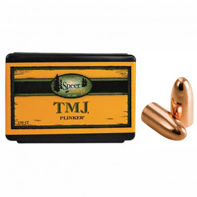 "Speer TMJ Handgun Bullets 9mm .355"" 124 gr TMJRN 100/ct"