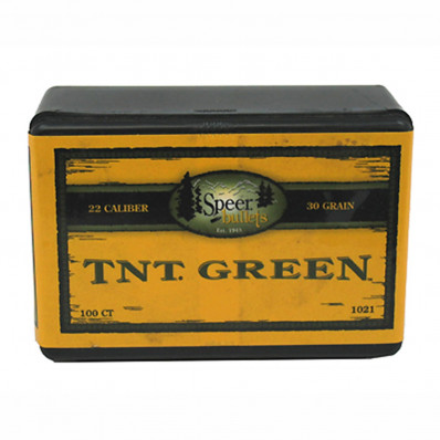 "Speer TNT Rifle Bullets 6mm .243"" 70 gr TNTHP 100/ct"