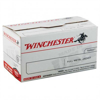 "Winchester Rifle Bullets .22 cal .224"" 55 gr FMJBT 100/ct"