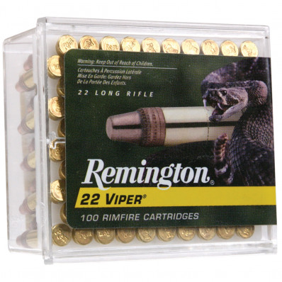 Remington .22 Viper Rimfire Ammunition