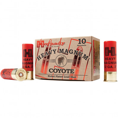 "Hornady Heavy Mag Coyote 12 ga 3""  1 1/2 oz #BB 1300 fps - 10/box"
