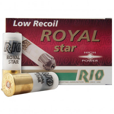 "Rio Royal Star Slug 12 ga 2 3/4""  1 oz Slug 1410 fps - 5/box"