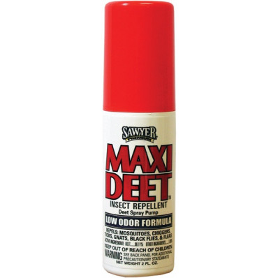 Coulston's Repellent 100% Maxi Deet 2 oz Low Odor
