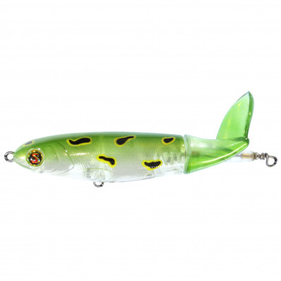 R2S Whopper Plopper 130S Top Prop Hard Lure - Frog