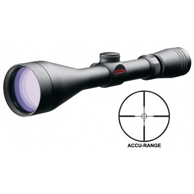 "Redfield Revolution Rifle Scope - 3-9x50mm Accu-Range 33.-13.1' 3.7-4.2"" Matte"