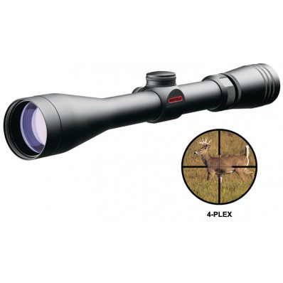 "Redfield Revolution Rifle Scope - 4-12x40mm 4-Plex 9.9-9.4' 3.7-4.9"" Matte"