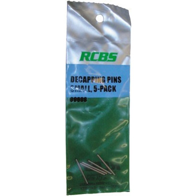 RCBS Large Decapping Pins - 5/ct