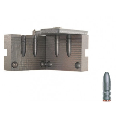 "RCBS Semi-Point Rifle Bullet Mould - Double Cavity .244"" 95 gr"