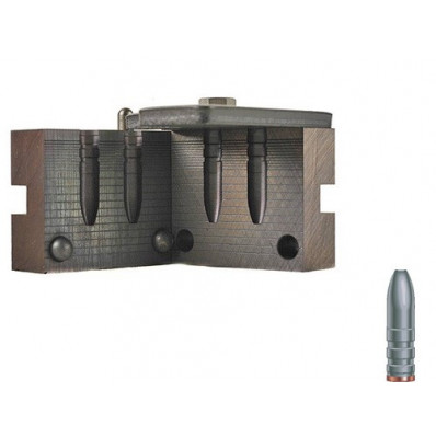 """RCBS Soft Point Rifle Bullet Mould - Double Cavity .258"""" 120 gr"""